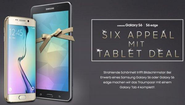 [eBay] Samsung Galaxy S6 edge 32GB (Schwarz,Weiss,Gold) + Tab 4 (SMT-230) Wifi schwarz