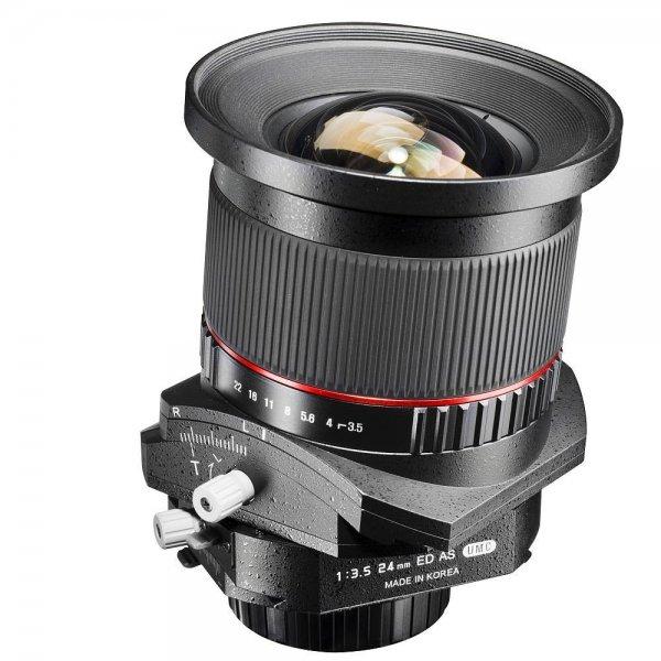 Walimex pro 24mm f3.5 Tilt-Shift Objektiv (Canon) für 685,99€ @Conrad
