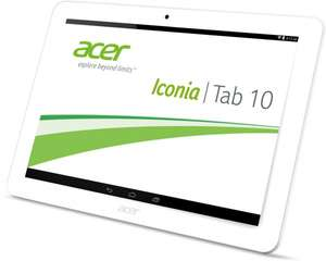 [Amazon Blitzangebot] Acer Iconia Tab 10 HD Display 16g weiss für 159€
