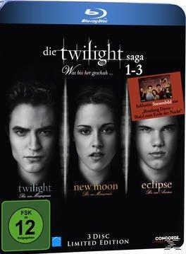 Die Twilight Saga 1-3 - Was bis(s)her geschah Bluray Box (BLU-RAY)