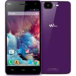 "Wiko Highway Smartphone 4G (5"", FHD, 2GHz Quad-Core, LTE, 16 MP Kamera, 8 MP Frontkamera, 16GB, 2GB RAM) für 200,60 € @Amazon.fr"