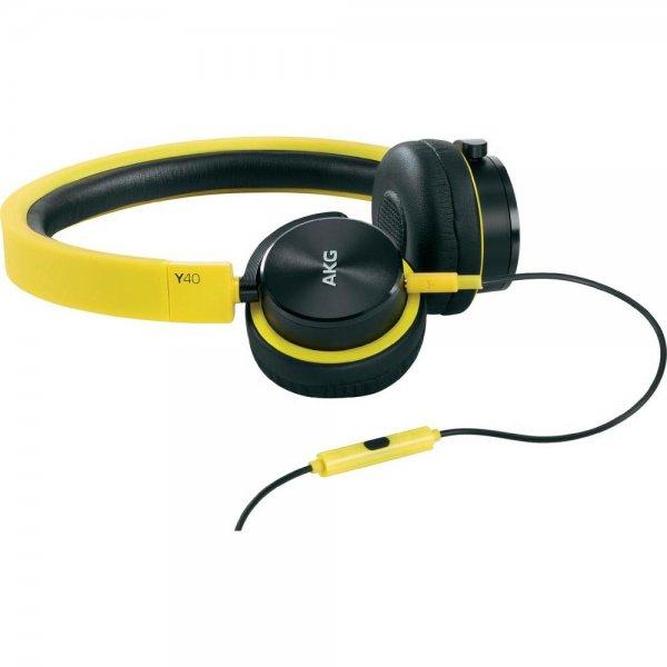 [conrad] AKG Y 40 On-Ear-Kopfhörer (Gelb)