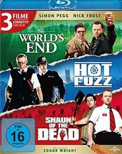[Media-Dealer] Cornetto Trilogie (Blu-ray)/ World´s End,Hot Fuzz,Shaun of the Dead für 13,89€ inc Versand