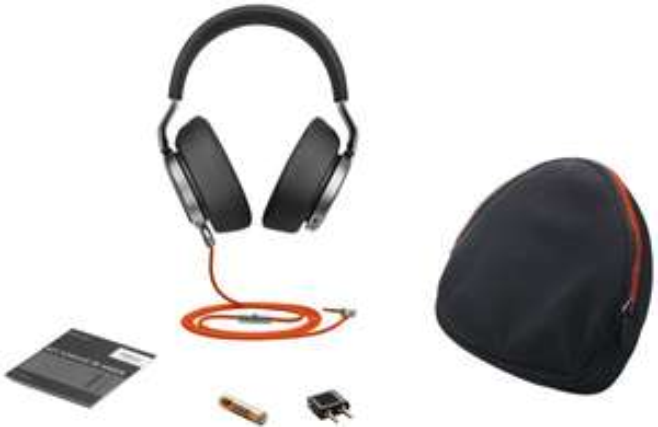 [Ibood] Jabra Vega Noise Cancelling Over-Ear-Kopfhörer (Active Noise Cancellation, Stereo-Headset, 3,5-mm-Audioanschluss, Freisprechfunktion, inkl. Audioadapter für Flugzeugsitz für 155,90€ inc. Versand