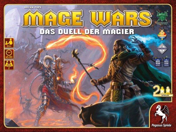 [amazon] Mage Wars - 2 Spieler Karten-/Miniatur-/Brettspiel
