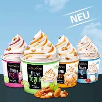 [REWE] Mövenpick Frozen Joghurt versch. Sorten 150ml für 1,25€ (Angebot+Scondoo) [Limitiert:4x/Account]