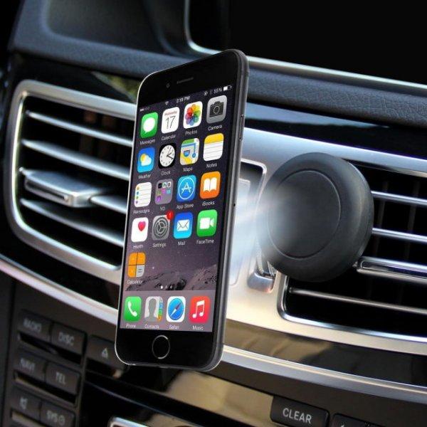 Smartphone Magnethalter für das KFZ für Iphones, Samsungs, Mp3 Player [ALLBUY]