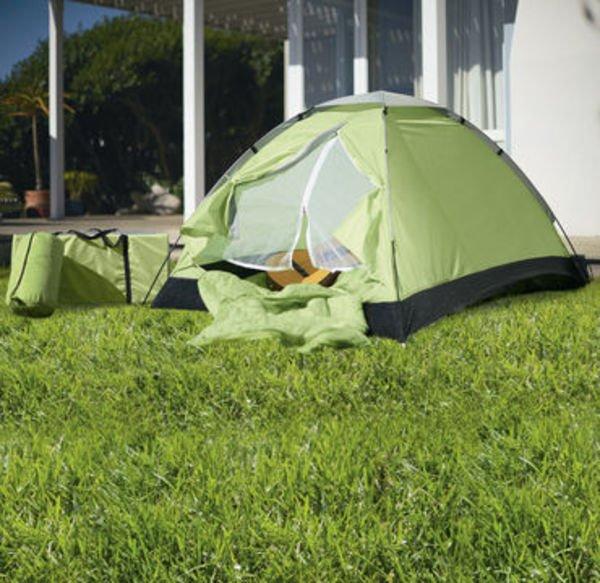 6-teiliges Zelt-Set (Zelt, 2 Schlafsäcke, 2 Matten + Tasche) bei NKD