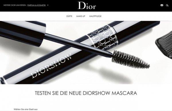 Dior Mini Mascara kostenlos in deiner Parfümerie abholen