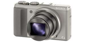 (Mediamarkt/Amazon) SONY DSC-HX 50 // 30x opt. Zoom // 20,4 MP // silber & schwarz