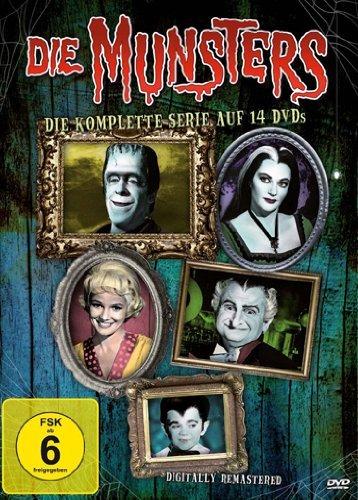 [Alphamovies] Die Munsters - Die komplette Serie [14 DVDs] für 24,94€ Versandkostenfrei