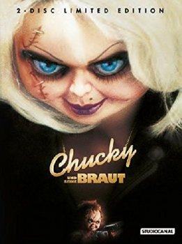 [Alphamovies] CHUCKY UND SEINE BRAUT (DVD+Blu-Ray) (2Discs) - Mediabook - Limited 2000 Edition - Uncut für 19,94€ Versandkostenfrei