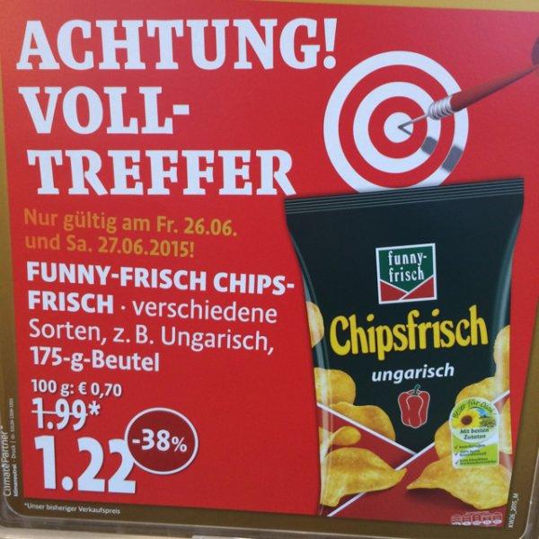 Funny-Frisch Chips 175g EUR 1,22 (-38%) Kaisers / Tengelmann