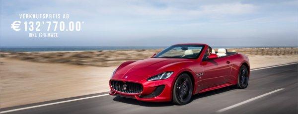 Maserati GRATIS Probefahren // gutes Leasingangebot für den Maserati Ghibli!
