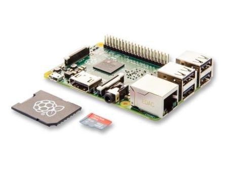 Raspberry Pi 2 + 8GB MicroSD Karte (NOOBS vorinstalliert)