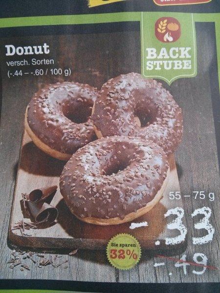 [Netto] Donut verschiedene Sorten 33ct/stk