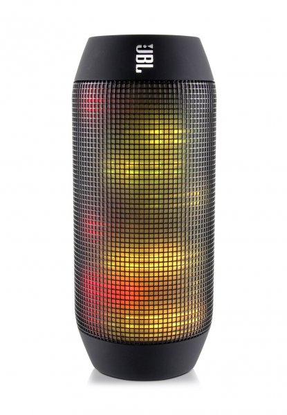 JBL Pulse mobiler Lautsprecher mit Bluetooth, NFC und Lichteffekten für 96,89€