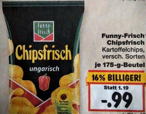 Kaufland [Kamen, Bergkamen, Lünen] - Funny Frisch Chipsfrisch 0,99€