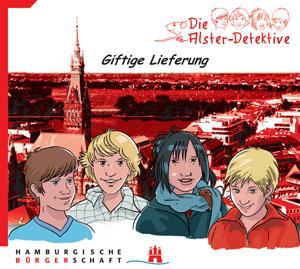 Kinder-Hörspiel: Die Alster-Detektive alle 5 Teile auf CD jeweils 50-70 Minuten mit den drei ??? Sprechern u.a.