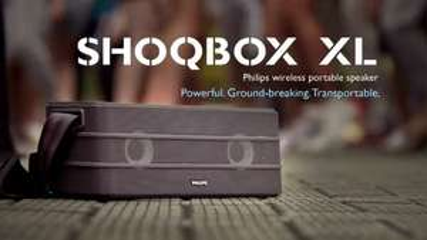 Philips Shoqbox XL SB8600 Lokal München Euroindustrie Park
