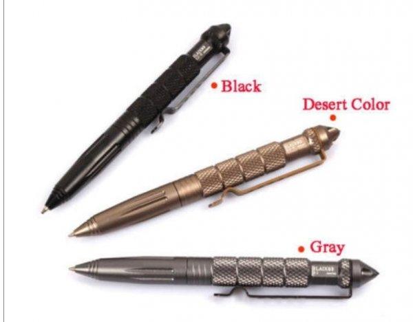 [CN / Aliexpress]: Tactical Pen - Kugelschreiber zur Selbstverteidigung für 3,27 €