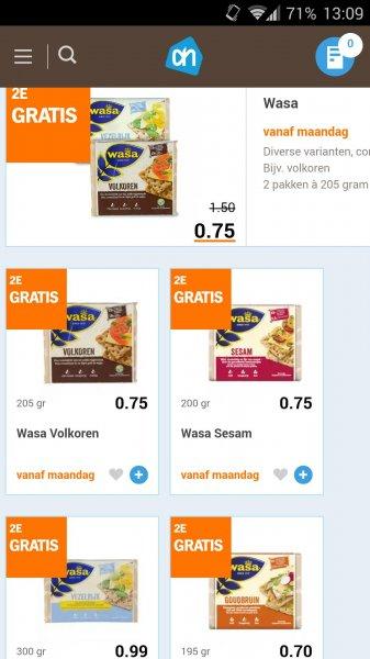 [Grenzgänger NL] Albert Heijn - 2x Wasa Knäckebrot ab 0,75 €