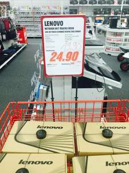 "[Lokal MM Lichtenfels] Lenovo S20-30 Touch (11,6"", N2840, 2GB Ram, 500GB HDD) - 199,-"