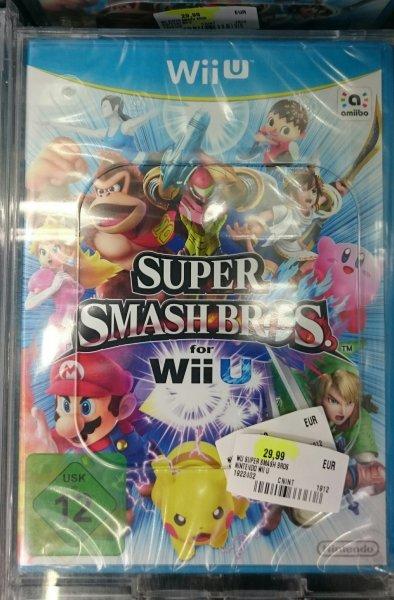 (Lokal Media Markt Schweinfurt) Super Smash Bros. for Wii U für 29,99 Euro