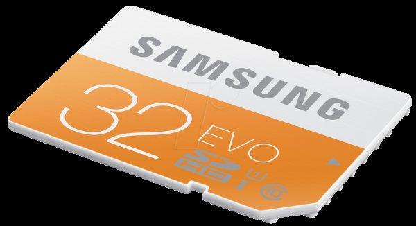[MediaMarkt] Samsung Evo SDHC 32GB Class 10 / UHS für 10€ (VSK frei)