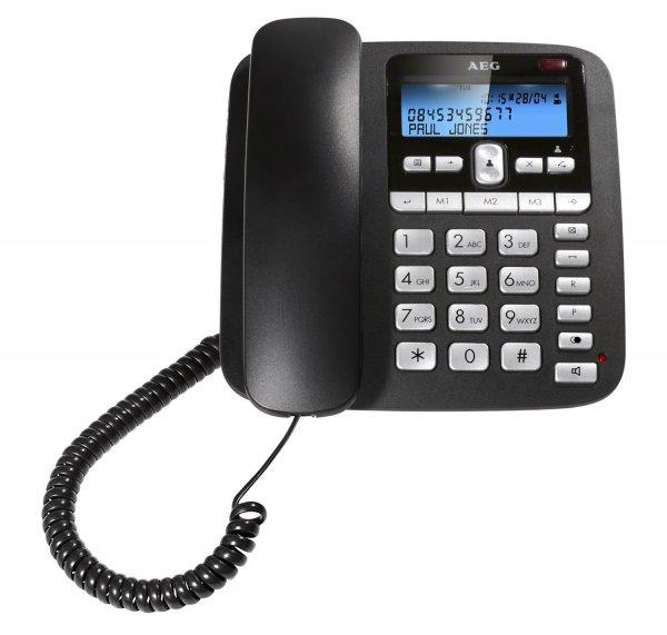 AEG VOXTEL C110 schnurgebundenes Telefon mit LC-Display ab 5,42 Euro @ Amazon WHD (Prime)