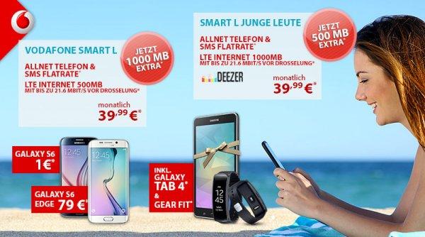 Samsung Galaxy S6 Edge + GearFit + Tap