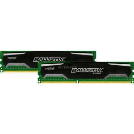 Crucial DIMM 16 GB DDR3-1600 Kit für 98,90 incl. Versand @ www.zackzack.de