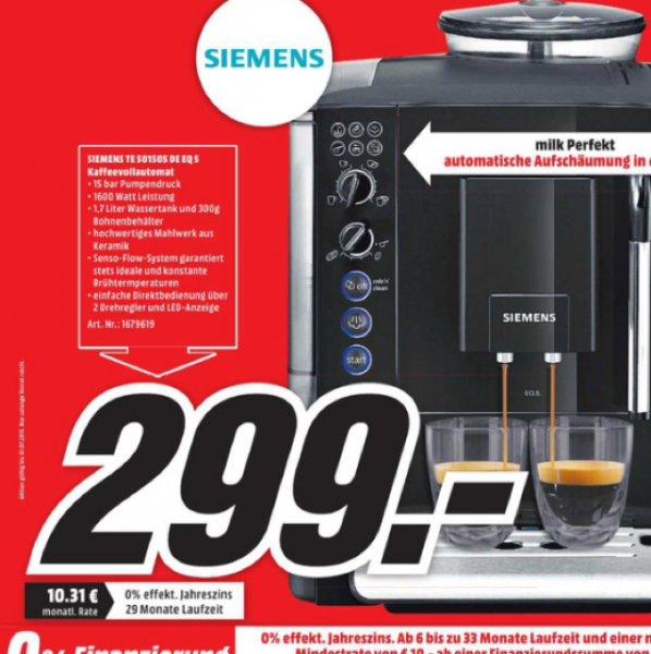Siemens TE 501505 EQ5 Vollautomat (Lokal, MM Mühldorf am Inn)