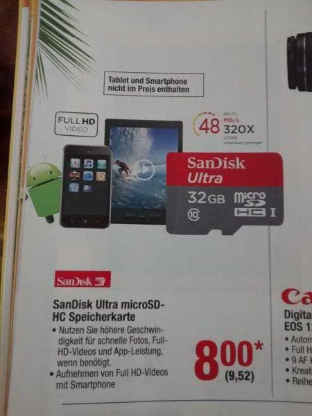 Metro Sandisk MicroSDHC 32GB 02.07-08-07