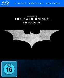 The Dark Knight Trilogie (Blu-ray) für 12,99€ @saturn.de & Amazon