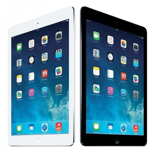 Apple iPad Air 16GB WiFi spacegrau / silber für 322,90 € [comspot] nur heute