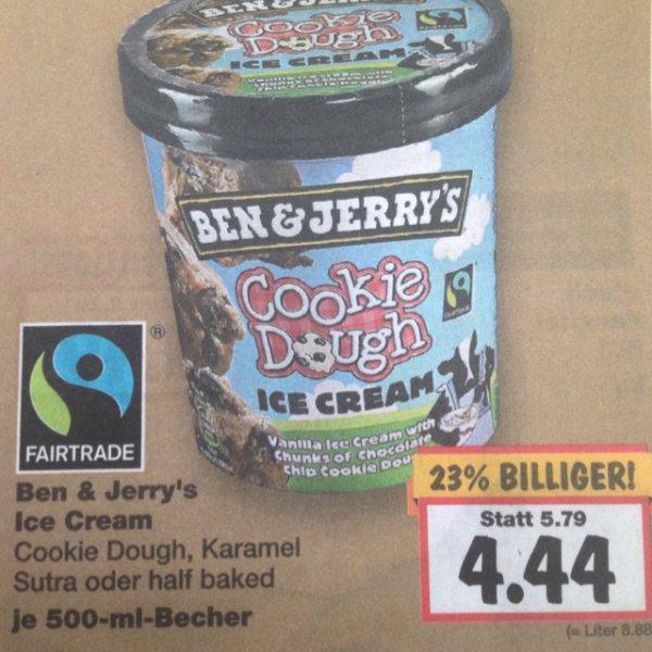 [Kaufland] Ben & Jerry's Eis 500ml Kaufland