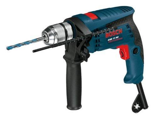 """Bosch Schlagbohrmaschine """"GSB 13 RE Professional"""" (inkl. Handwerkerkoffer, blau) für 59,85€ @ ZackZack"""