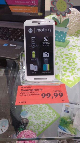[Lokal Regensburg] Motorola Moto G (2. Generation) für 99 Euro bei Aldi-Süd