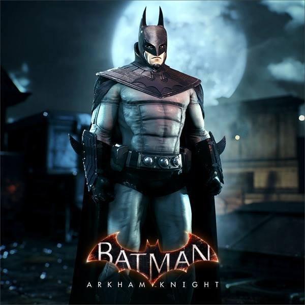 Arkham Knight Charakter Skin (Batsuit aus Zeichentrickserie Gotham Knight) @WBPlay