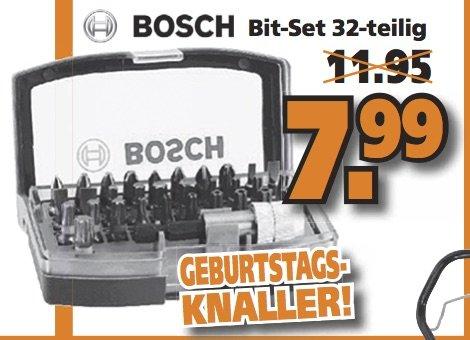 [LOKAL Globus Braunschweig] 32-teiliges Bosch Bit Set 7,99€