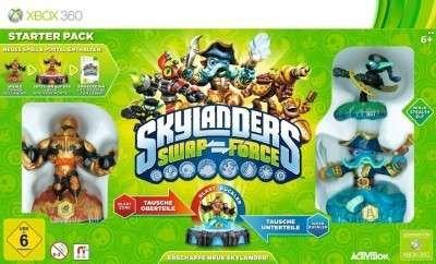 (jpc) Skylanders SWAP Force - Starter Set Xbox One für 9,99 EUR plus Füllartikel