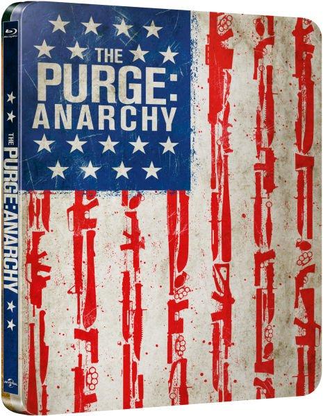 The Purge: Anarchy - Steelbook (Blu-ray) @Zavvi