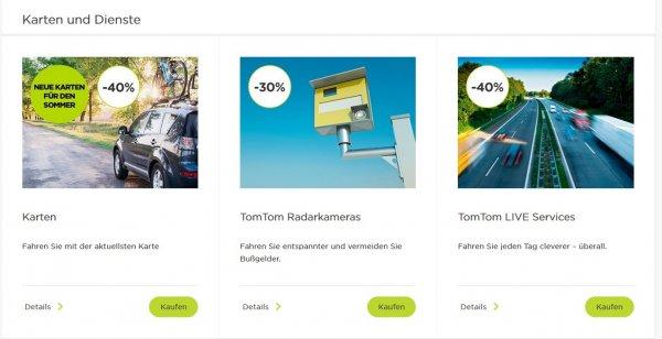 TomTom Karten 40% Rabatt