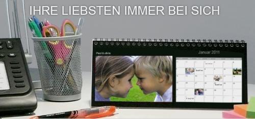 Tischkalender bei photobox für 4,90 Euro für Bestandskunden