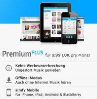 3 Monate simfy kostenlos testen - wie spotify oder Napster *UPDATE3*