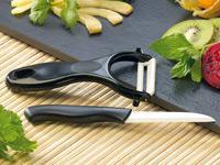 Pearl: Keramik-Messer und Schäler (gratis) + 4,90 Versandkosten