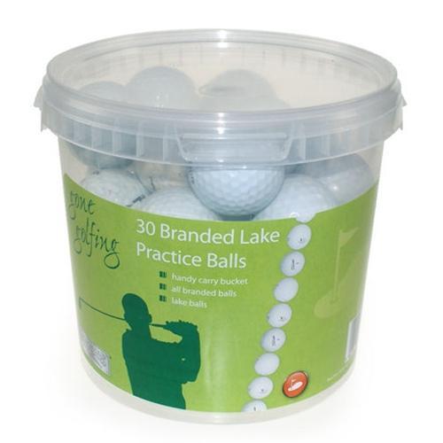 30 Golfbälle (Lakeballs) im Eimer für €5,99 [@Play.com]