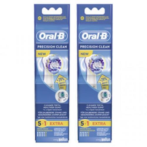 ROSSMANN Oral-B Aufsteckbürsten Precision Clean 6 Stk. für 11,99 Euro / Oral-B Professional Care 500 für 17,99 Euro