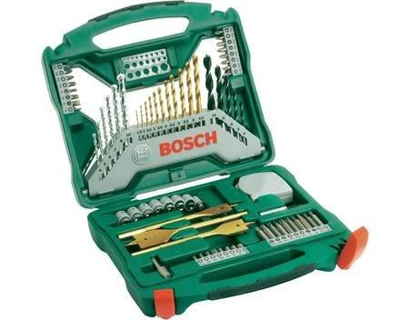 Bosch X-Line Set 70tlg Universal-Bohrer-Set für 23,95 € @ Allyouneed